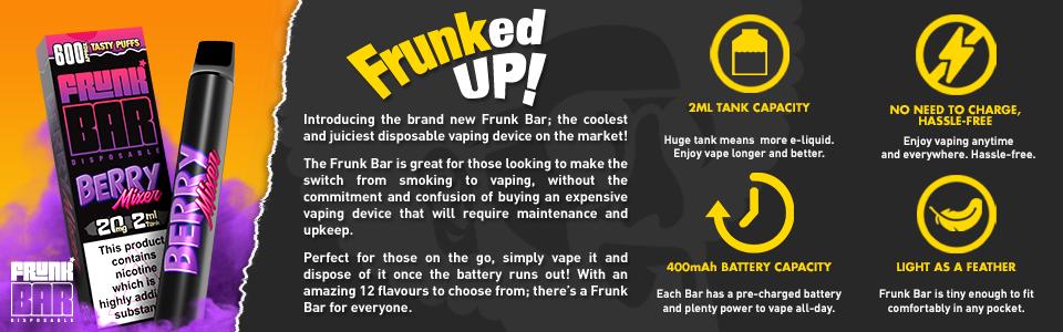 Frunk Bars Energy burst UK wholesale