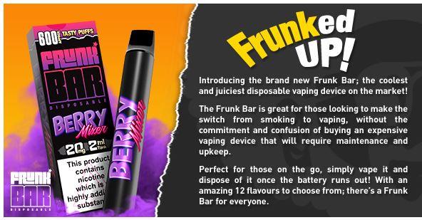 Top Frunk Bar Flavours